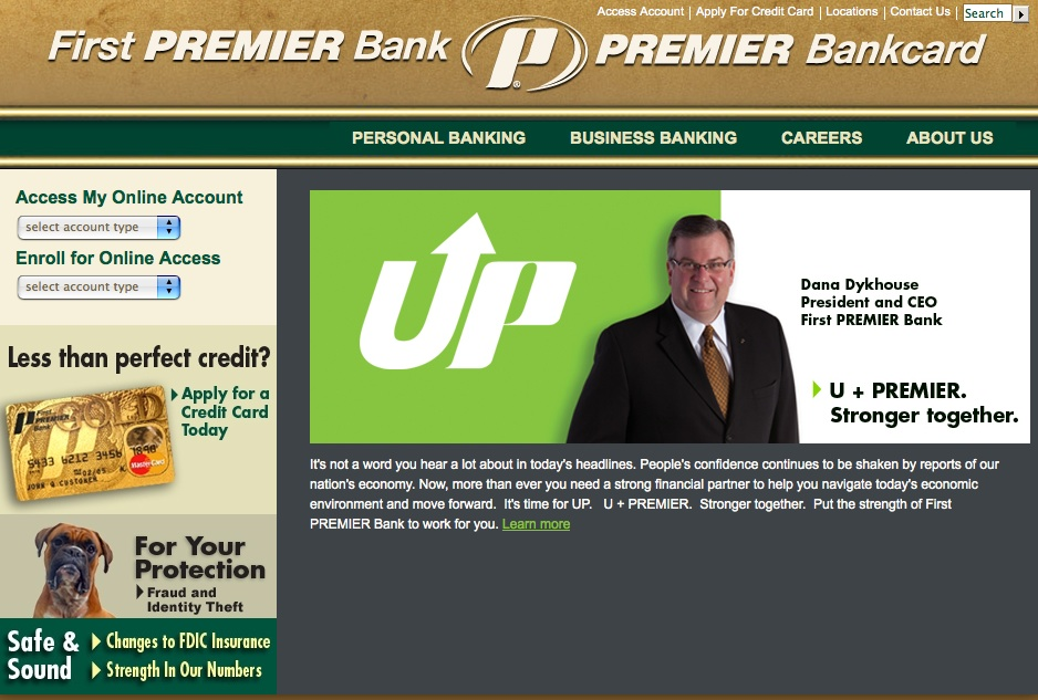 first premier bank card application status