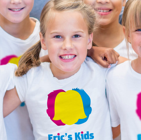 Brand Strategy and Design for Eric's Kids