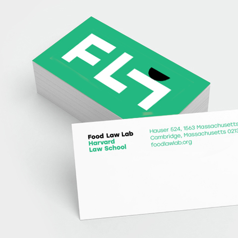 Brand Strategy and Design for Harvard Food Law Lab