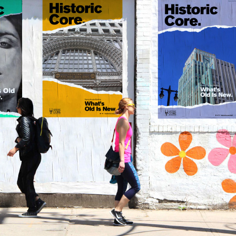 Brand Strategy and Design for Historic Core BID