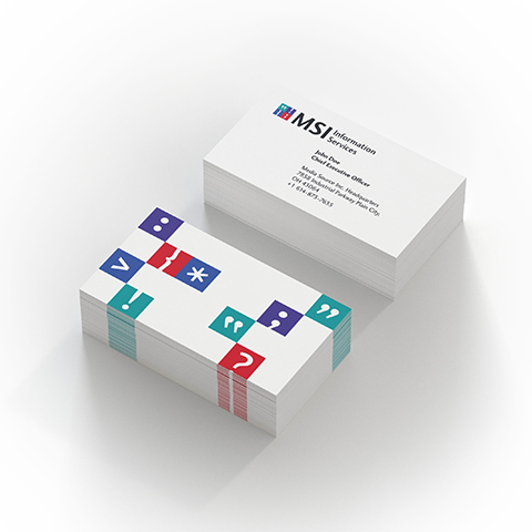 Brand Strategy and Design for MSI Information Services